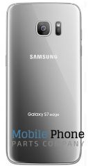 Genuine Samsung Galaxy S7 Edge G935F Battery Back Cover Silver - Part No: GH82-11346B